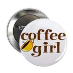Coffee Girl Button