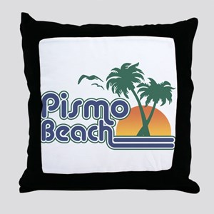 Pismo Beach Throw Pillow