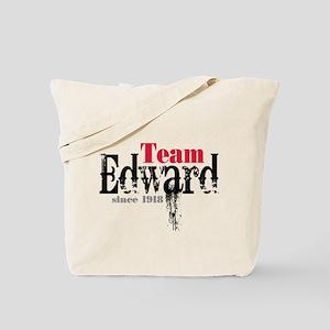 Team Edward Since 1918 Tote Bag