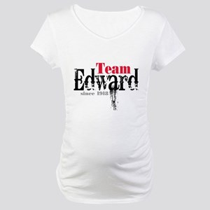 Team Edward Since 1918 Maternity T-Shirt