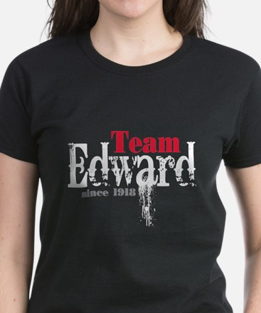 Team Edward Since 1918 Women's Dark T-Shirt