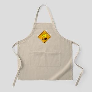 Yellow Lab X-ing BBQ Apron