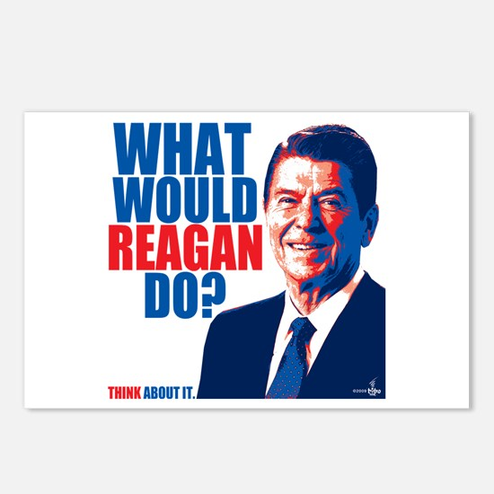 What Would Reagan Do? Design Postcards (Package of