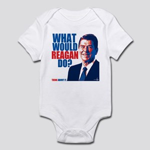 What Would Reagan Do? Design Infant Bodysuit