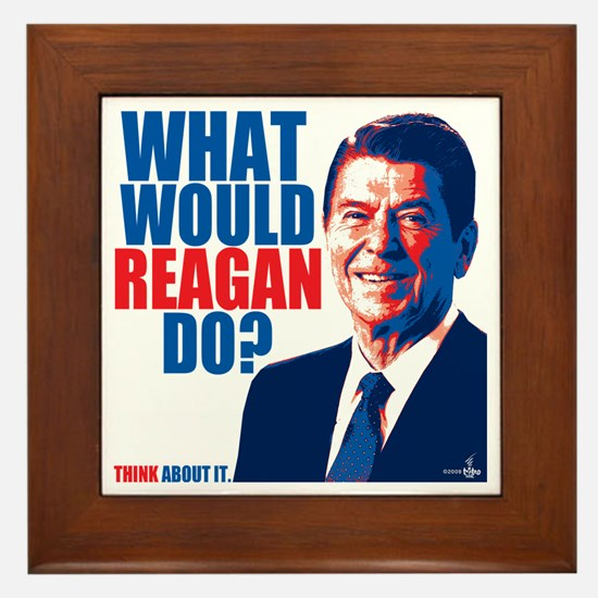 What Would Reagan Do? Design Framed Tile