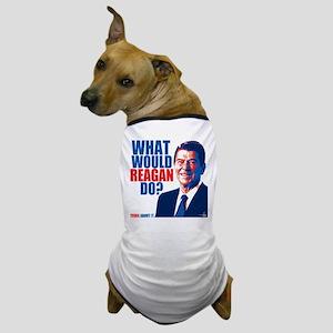 What Would Reagan Do? Design Dog T-Shirt