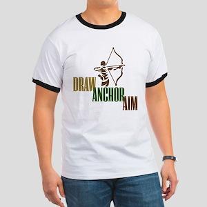 Draw. Anchor. Aim. Ringer T