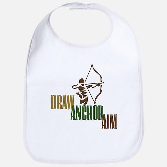 Draw. Anchor. Aim. Bib