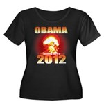 Obama 2012 - End of the World Women's Plus Size Sc