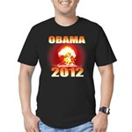 Obama 2012 - End of the World Men's Fitted T-Shirt