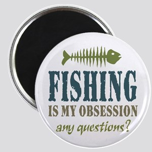 Fishing is My Obsession Magnet
