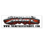Disposable Heroes Skulls Bumper Sticker (10 pk)