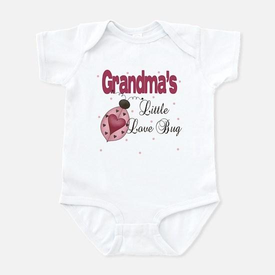 Grandma's Little Love Bug Infant Bodysuit