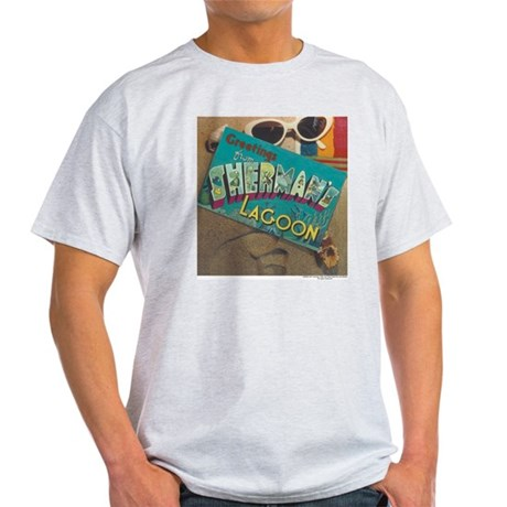 Postcard Greetings Light T-Shirt