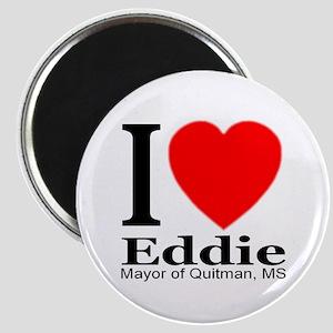 I Love Eddie Mayor of Quitman, MS Magnet