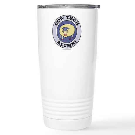 Cow Tech Alumni... Stainless Steel Travel Mug