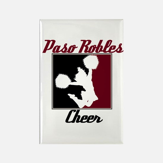 Paso Robles Cheer (1) Rectangle Magnet