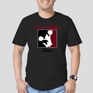 Paso Robles Cheer (1) Men's Fitted T-Shirt (dark)