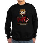 Obama WTF!? Design 1 Sweatshirt (dark)