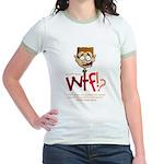 Obama WTF!? Design 1 Jr. Ringer T-Shirt