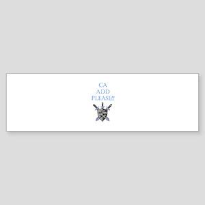 CA Add Please Bumper Sticker (10 pk)