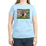 Lilies (#2) - Beagle #7 Women's Light T-Shirt