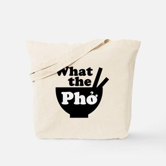 Funny Pho Tote Bag