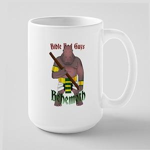 Bible Bad Guys: Behemoth Large Mug