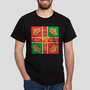 Wild Geese Regiment Flag Dark T-Shirt