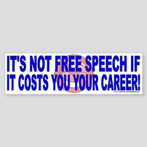 Free speech (sticker)