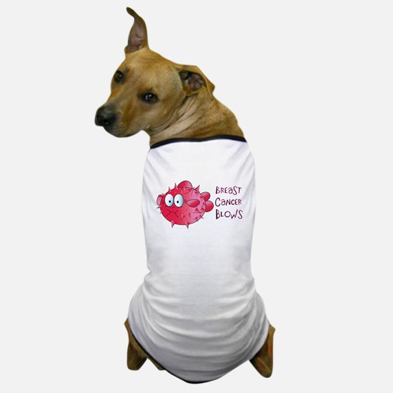 Breast Cancer Blows Dog T-Shirt