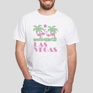 Vintage Las Vegas White T-Shirt