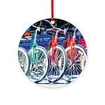Riccoboni bicycles Ornament (Round)