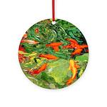 Riccoboni Koi Fish Ornament (Round)
