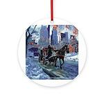 Riccoboni Central Park NYC Ornament (Round)