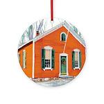 Riccoboni School House Ornament (Round)