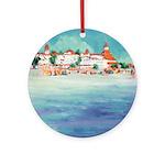Riccoboni Coronado Beach Ornament (Round)