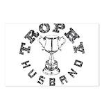 Trophy Husband Postcards (Package of 8)