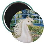 Bridge/Arabian horse (w) Magnet