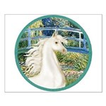 Bridge/Arabian horse (w) Small Poster