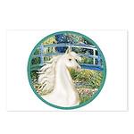 Bridge/Arabian horse (w) Postcards (Package of 8)