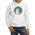 Bridge/Arabian horse (w) Hooded Sweatshirt
