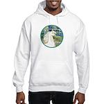 Bridge/Arabian horse (w) Hooded Sweatshirt