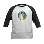 Bridge/Arabian horse (w) Kids Baseball Jersey