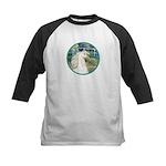 Bridge/Arabian horse (w) Kids Baseball Jersey