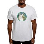 Bridge/Arabian horse (w) Light T-Shirt
