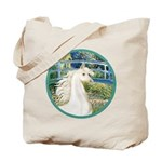 Bridge/Arabian horse (w) Tote Bag