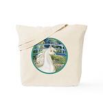 Bridge/Arabian horse (w) Tote Bag