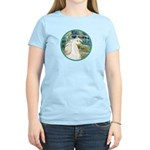 Bridge/Arabian horse (w) Women's Light T-Shirt