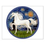 Starry / Arabian Horse (W1) Small Poster